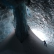 """Pure Imagination"" ice cave under the Sandy Glacier on Mt Hood, Oregon. March, 2015."